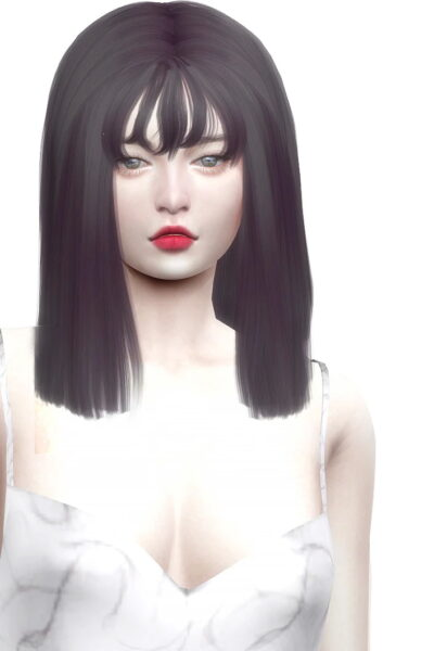 Nilyn Sims 4: Chilly Hair for Sims 4
