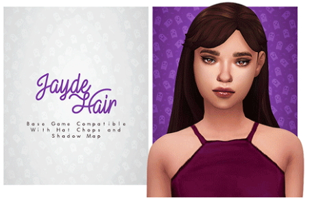 Isjao: Barbare and Jayde Hair for Sims 4