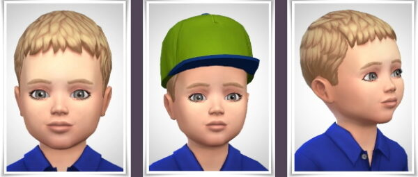 Birksches sims blog: Casar Hairstyle for Sims 4