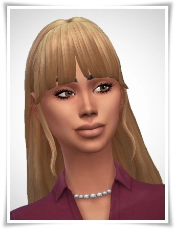 Birksches sims blog: Wilma Hairstyle for Sims 4
