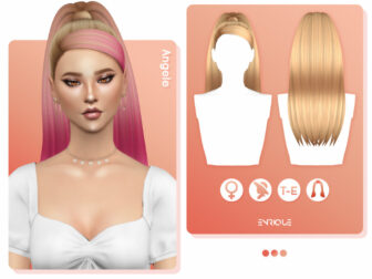 Angele Hairstyle