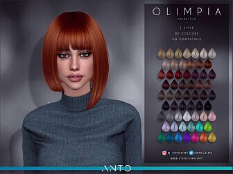 Olimpia Bob Hairstyle by Anto