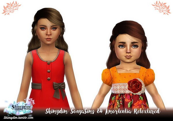 Amortentia Hair Retexture ~ Shimydim for Sims 4