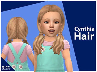 Cynthia Hair by qicc