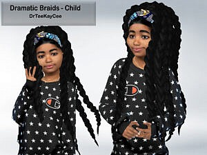 Dramatic Braids for Child by drteekaycee
