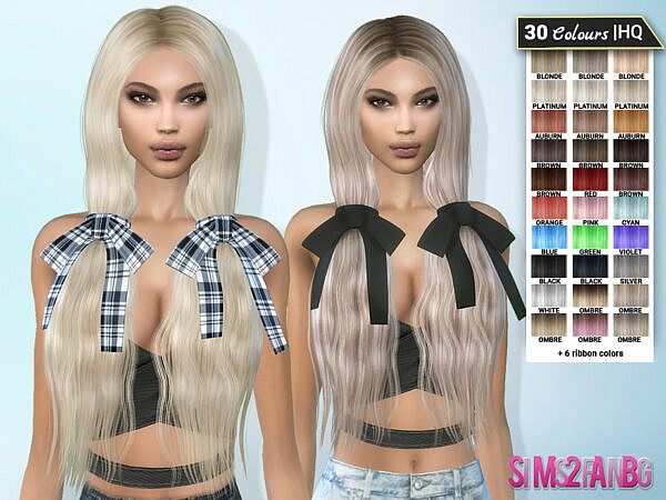 Hair 10 Veronique by sims2fanbg ~ The Sims Resource for Sims 4