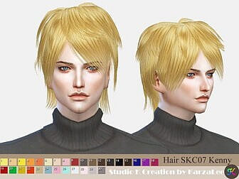 Kenny Hairstyle