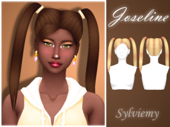 Joseline Hairstyle Set by Sylviemy