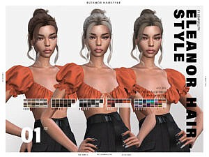 LeahLillith Eleanor Hairstyle