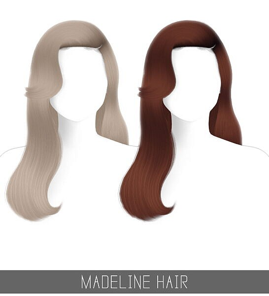 Madeline Hair ~ Simpliciaty for Sims 4