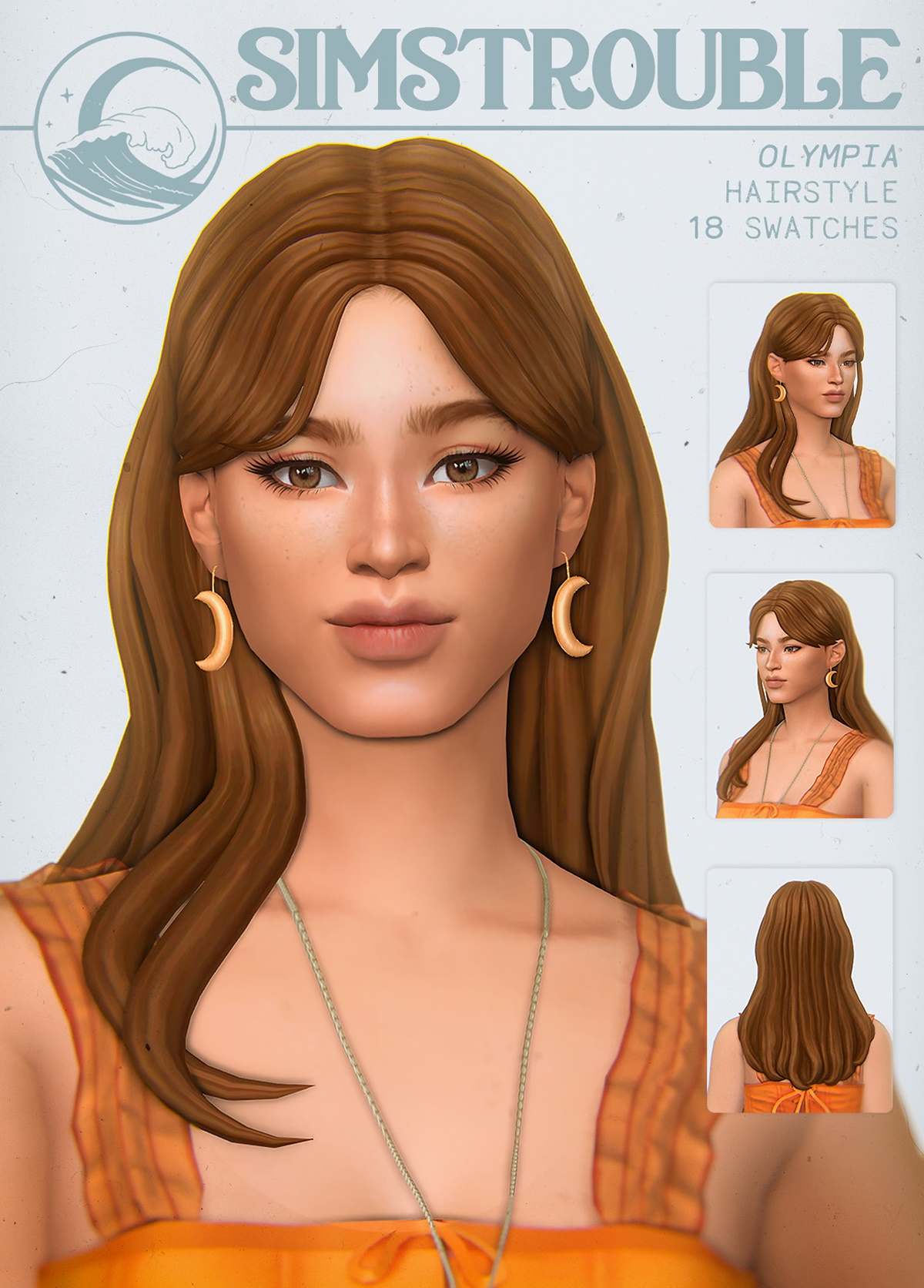 Sims 4 Fortnite Hair Olympia Hair Simstrouble Sims 4 Hairs