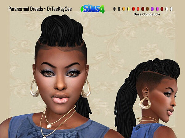 Paranormal Dreads by drteekaycee ~ The Sims Resource for Sims 4