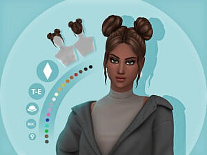 Rae Hairstyle by simcelebrity00