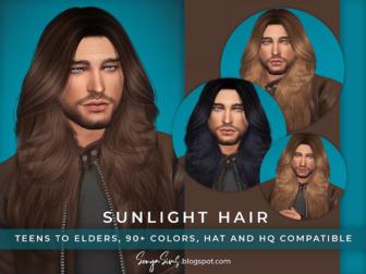 Sunlight Hair for man
