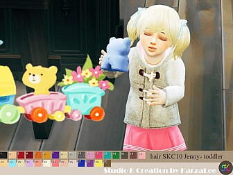 SKC 10 Jenny Hair T/G