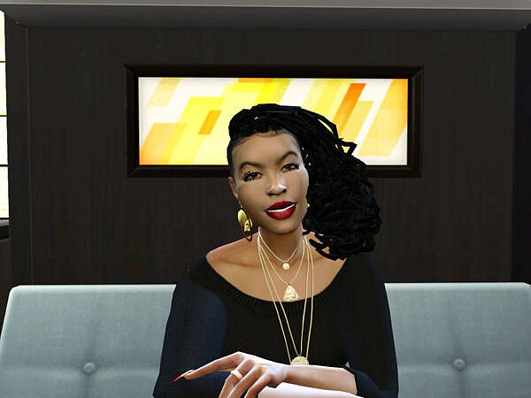 Dreads Shaved Do Hair by drteekaycee ~ The Sims Resource for Sims 4