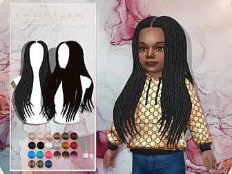 JavaSims Beauty Mark Hair Toddlers