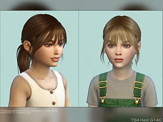 DaisySims Child Hair G14C