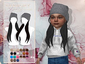 Harmony Hair T by JavaSims