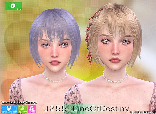 J255 Line Of Destiny Hair