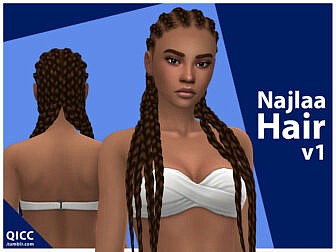 Najlaa Hairstyle by qicc