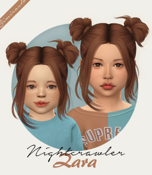 Nightcrawler`s Zara Hair Retextured