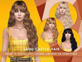SonyaSims Sand Castle Hair