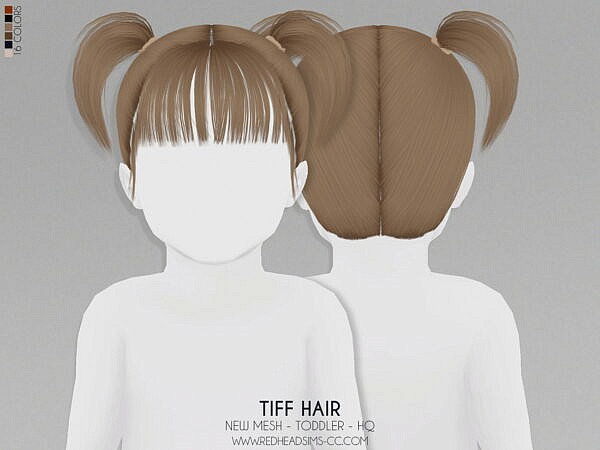 Tiff Hairstyle ~ Coupure Electrique for Sims 4