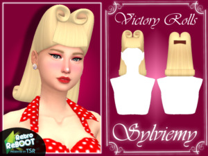 Victory Rolls Hair by Sylviemy