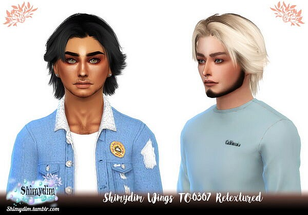 Wings TO0307 Hair Retextured