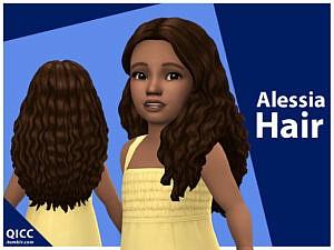 Alessia Hair by qicc