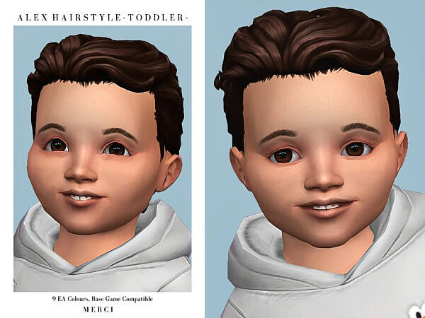 Alex Hairstyle T by Merci ~ The Sims Resource for Sims 4