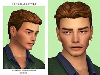 Alex Hairstyle by Merci