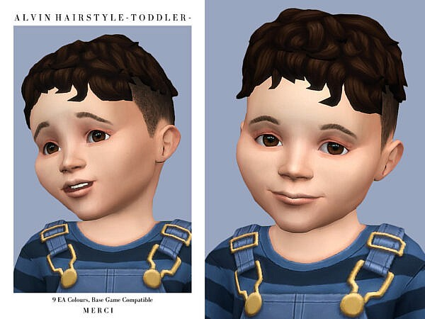 Alvin Hairstyle -Toddler by Merci