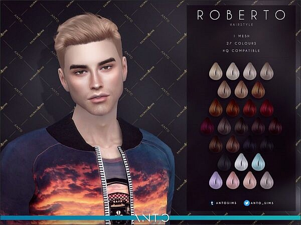 Anto   Roberto ~ The Sims Resource for Sims 4