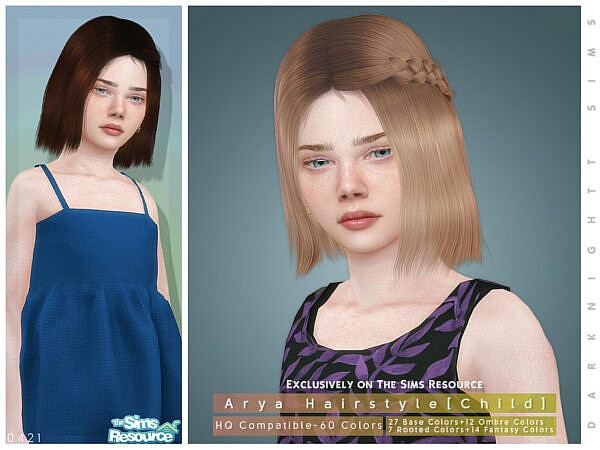 Arya Hairstyle Child by DarkNighTt