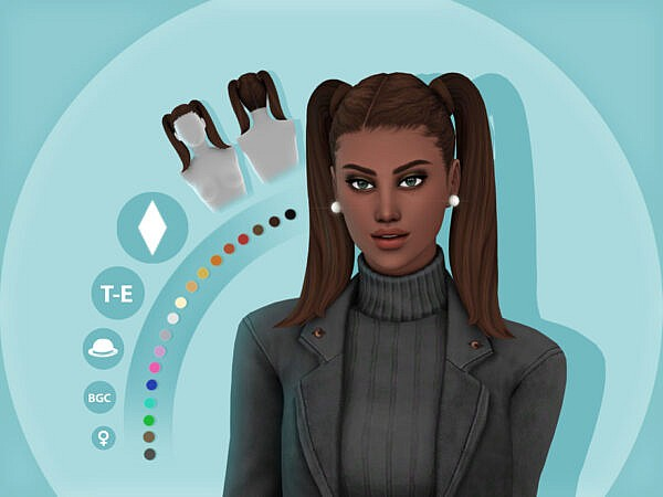 Asia Hairstyle by simcelebrity00 ~ The Sims Resource for Sims 4