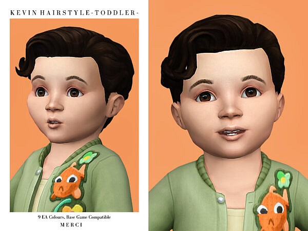 Kevin Hairstyle by Merci ~ The Sims Resource for Sims 4