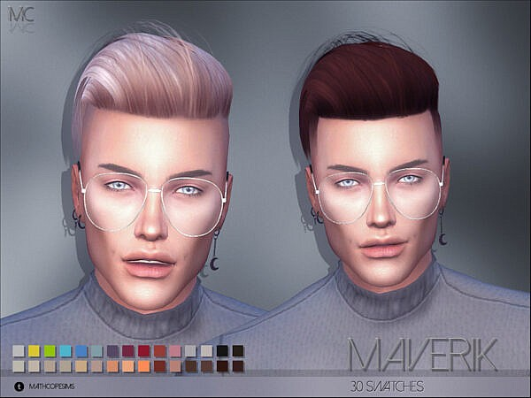 Mathcope Maverik Hair