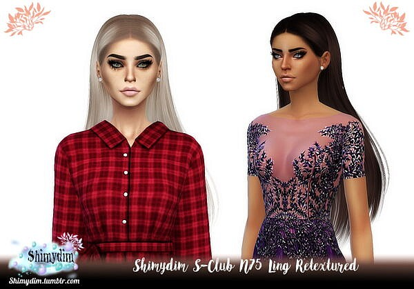 S-Club N75 Ling Hair Retextured