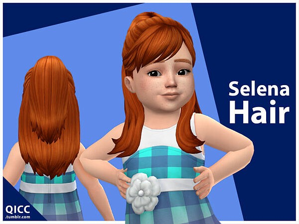 qicc`s Selena Hair ~ The Sims Resource for Sims 4