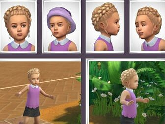 Verity Toddler Hairstyle