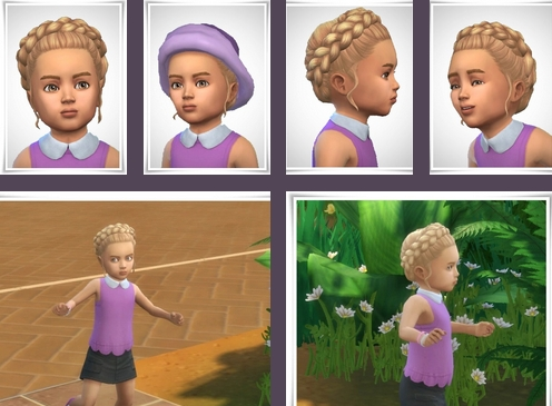 Verity Toddler Hairstyle ~ Birksches Sims Blog for Sims 4