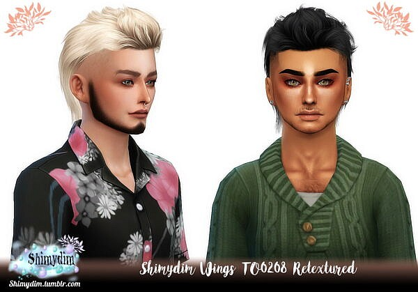 Wings TO0208 Hair Retextured