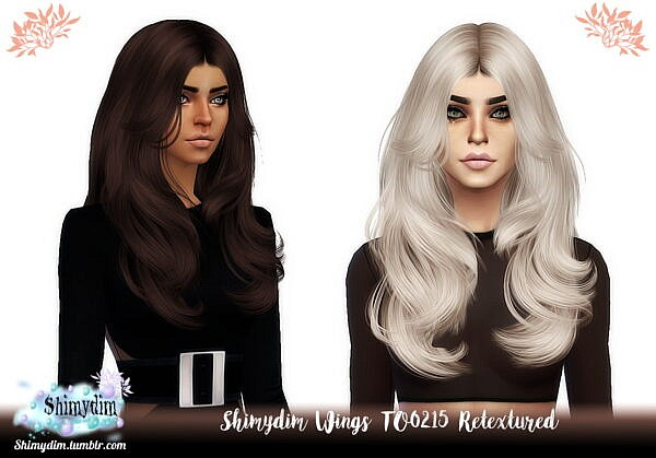 Wings TO0215 Hair Retexture