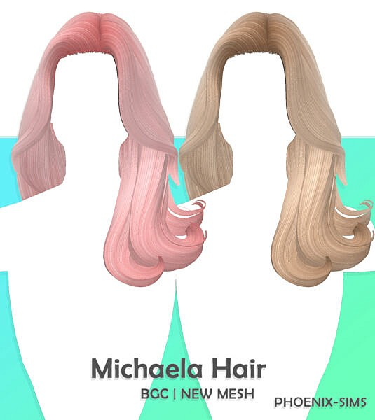 Eve and Michaela Hairs ~ Phoenix Sims for Sims 4