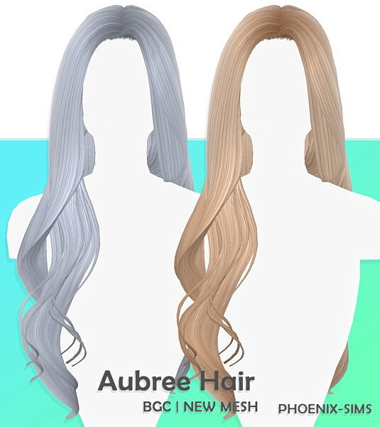 Navaeh and Aubree Hairs ~ Phoenix Sims for Sims 4