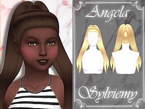 Angela Hairstyle Child by Sylviemy