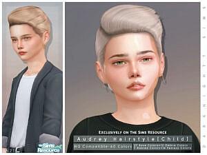 Audrey Hairstyle Child by DarkNighTt