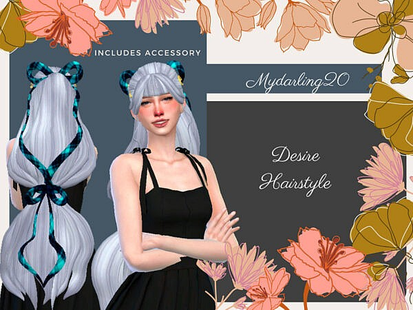 Desire Hair ~ The Sims Resource for Sims 4
